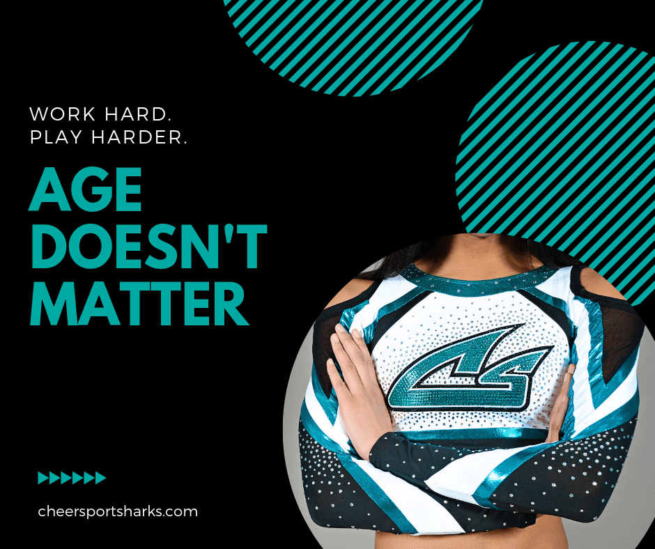 Cheerleading Age Does Not Matter FB